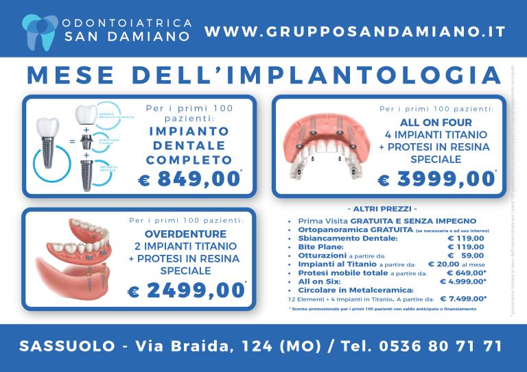 Implantologia San Damiano